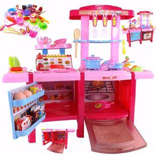 Obrázok Detská kuchynka so zvukmi s chladničkou a pekárňou
