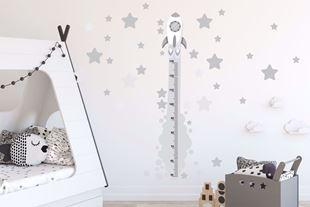 Obrázok Meter na stenu - Raketa Šedá