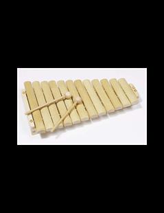Obrázok Xylofón drevený, 12 tónov