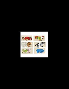 Obrázok Pexeso a puzzle v jednom - Veselá zvieratká
