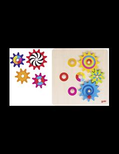 Obrázok Roztoč ma - hra s ozubenými kolieskami, 8 dielov