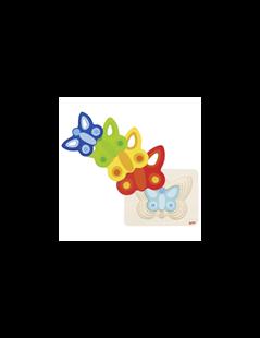 Obrázok Vrstvené puzzle - motýle II