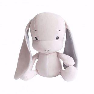 Obrázok Maznáčik Effik Bunny Ružový s šedými uškami