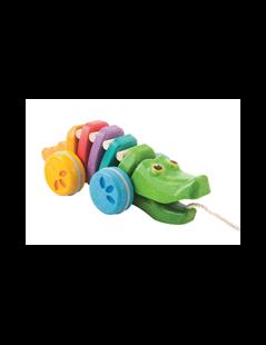 Obrázok Tancujúci krokodíl - dúhový