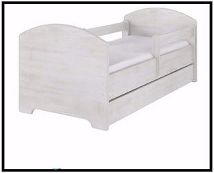 Obrázok Detská posteľ jednofarebná 160x80 cm
