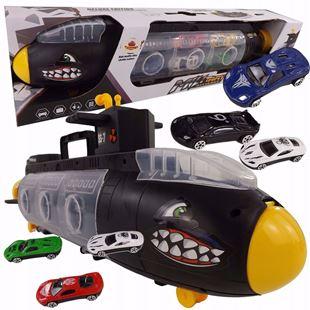 Obrázok Podvodné loď s autami