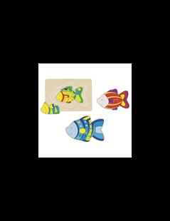 Obrázok Vrstvené puzzle - ryby