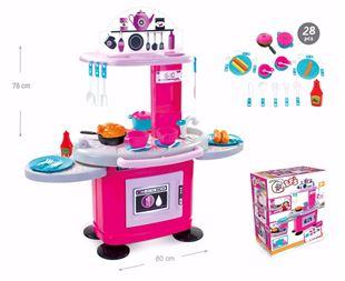 Obrázok Detská kuchynka s poličkami