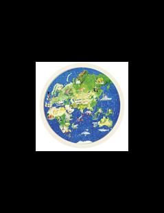 Obrázok Obojstranné puzzle - Zemeguľa