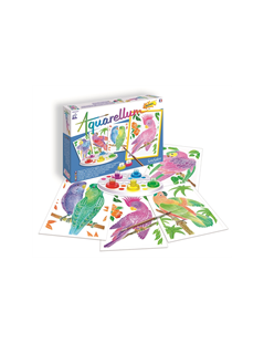 Obrázok Akvarely junior - Papagáje