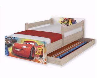 Obrázok Disney Detská posteľ Cars 180x90 cm