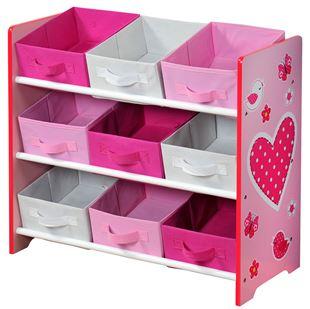 Obrázok Organizer na hračky ružový