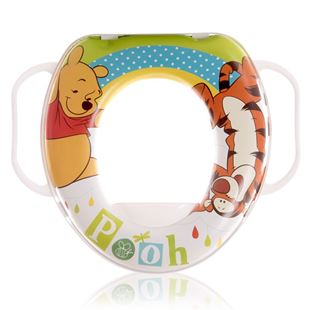 Obrázok Detské sedadlo na WC Lorella SOFT Macko Biela