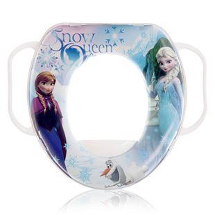 Obrázok Detské sedadlo na WC SOFT Frozen Biela