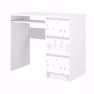 Obrázok Písací stôl Baletka so zásuvkami
