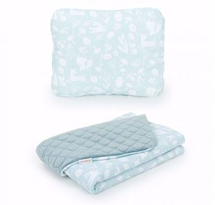 Obrázok Detská deka s vankúšom Les Velvet Lux 75x100 cm - rôzne farby a varianty