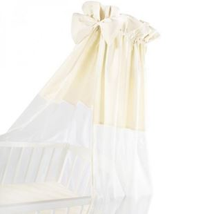 Obrázok Luxusné nebesia 200 x 150 cm s mašličkou - biela / béžová