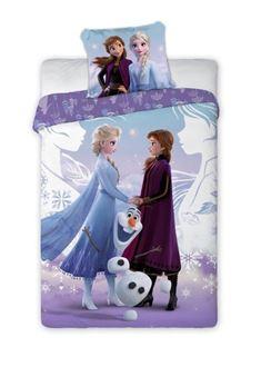 Obrázok z Detské obliečky Anna, Elsa a Olaf 140x200 cm