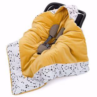 Obrázok Zavinovacia deka s kapucňou konštelácia