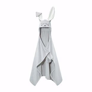 Obrázok Detská deka s kapucňou a ušami Zajačik