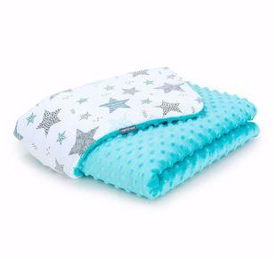 Obrázok Detská deka Hviezdy 2 Minky 75x100 cm