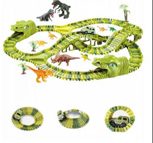 Obrázok Detská autodráha 360 cm Dino