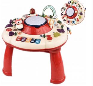 Obrázok Detský interaktívny stolček s bubienkom
