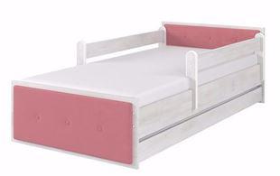 Obrázok Detská posteľ Max Cushioned 160x80 cm Šedivá