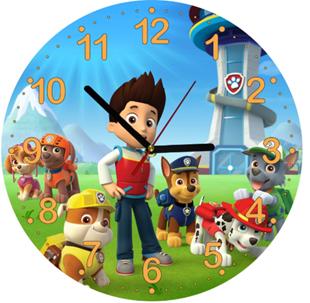 Obrázok Detské hodiny Tlapková Patrola