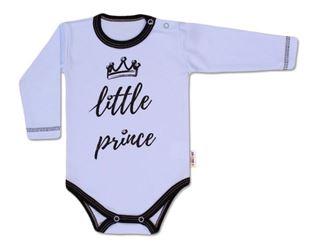 Obrázok Body dlhý rukáv, Little Prince - modré