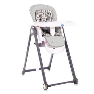 Obrázok Jedálenská stolička PARTY COOL GREY LEATHER