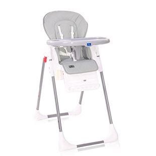 Obrázok Jedálenská stolička CRYSPI COOL GREY LEATHER