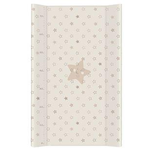 Obrázok Prebaľovacia podložka Lorella tvrdá 50x80 cm STARS BEIGE