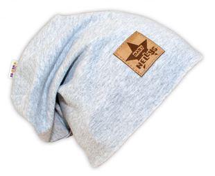 Obrázok Bavlnená čiapočka - sivý melír