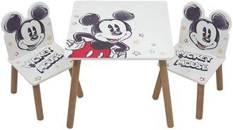 Obrázok z Detský stôl s stoličkami Mickey Mouse